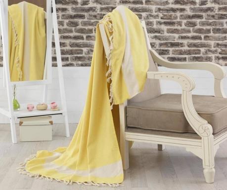 Prikrývka Elmas Yellow 200x240 cm