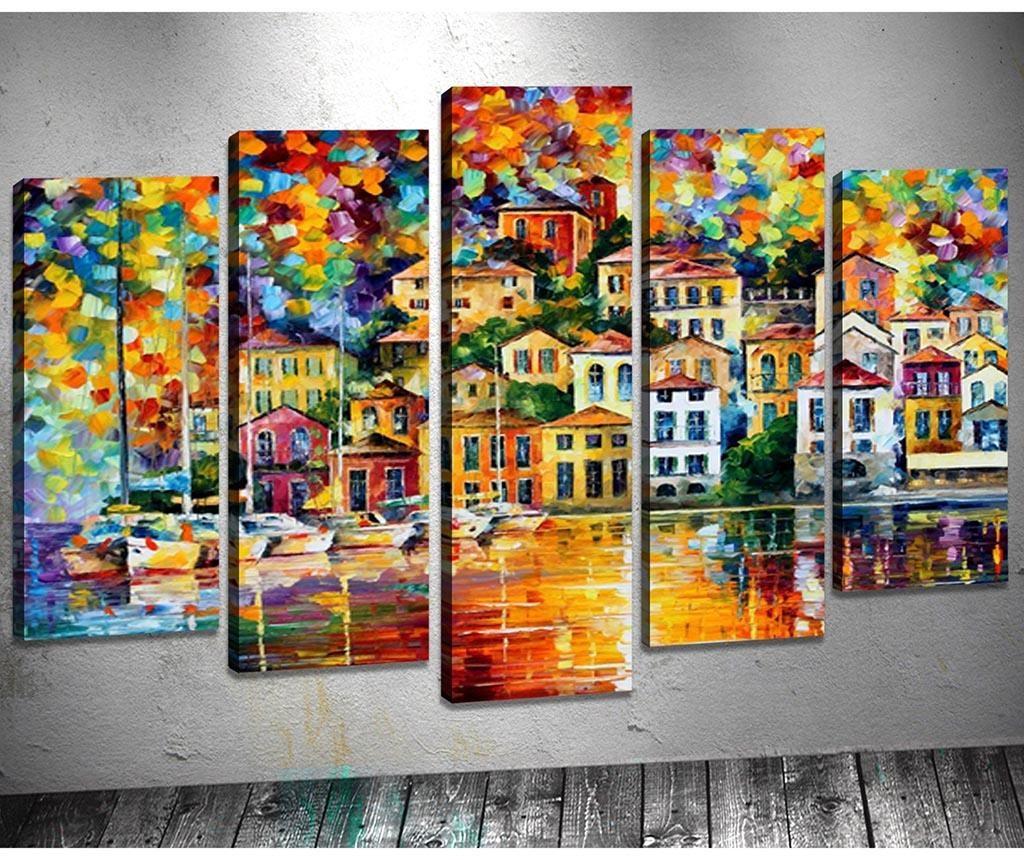 Set 5 slika Bright Houses