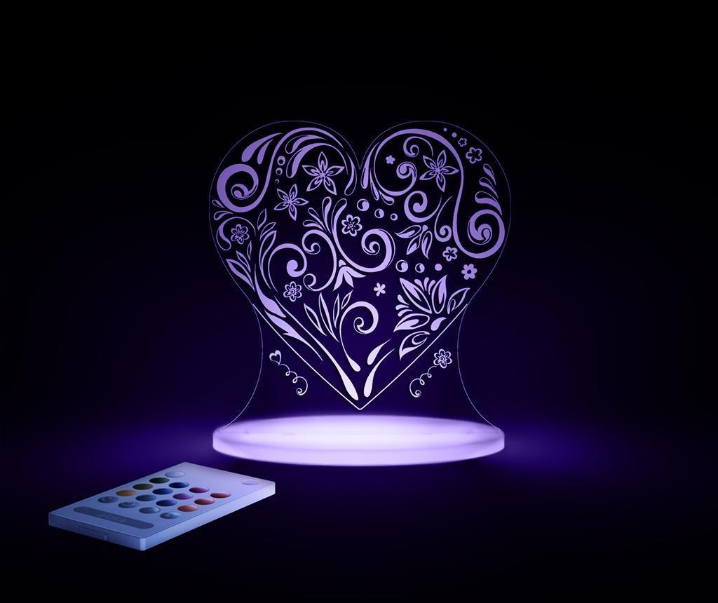 Noćna svjetiljka Love Heart