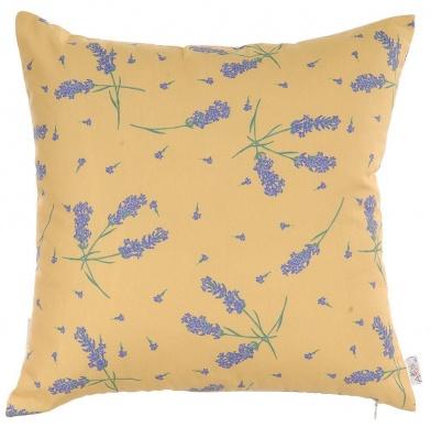 Obliečka na vankúš Lavender on Orange 43x43 cm