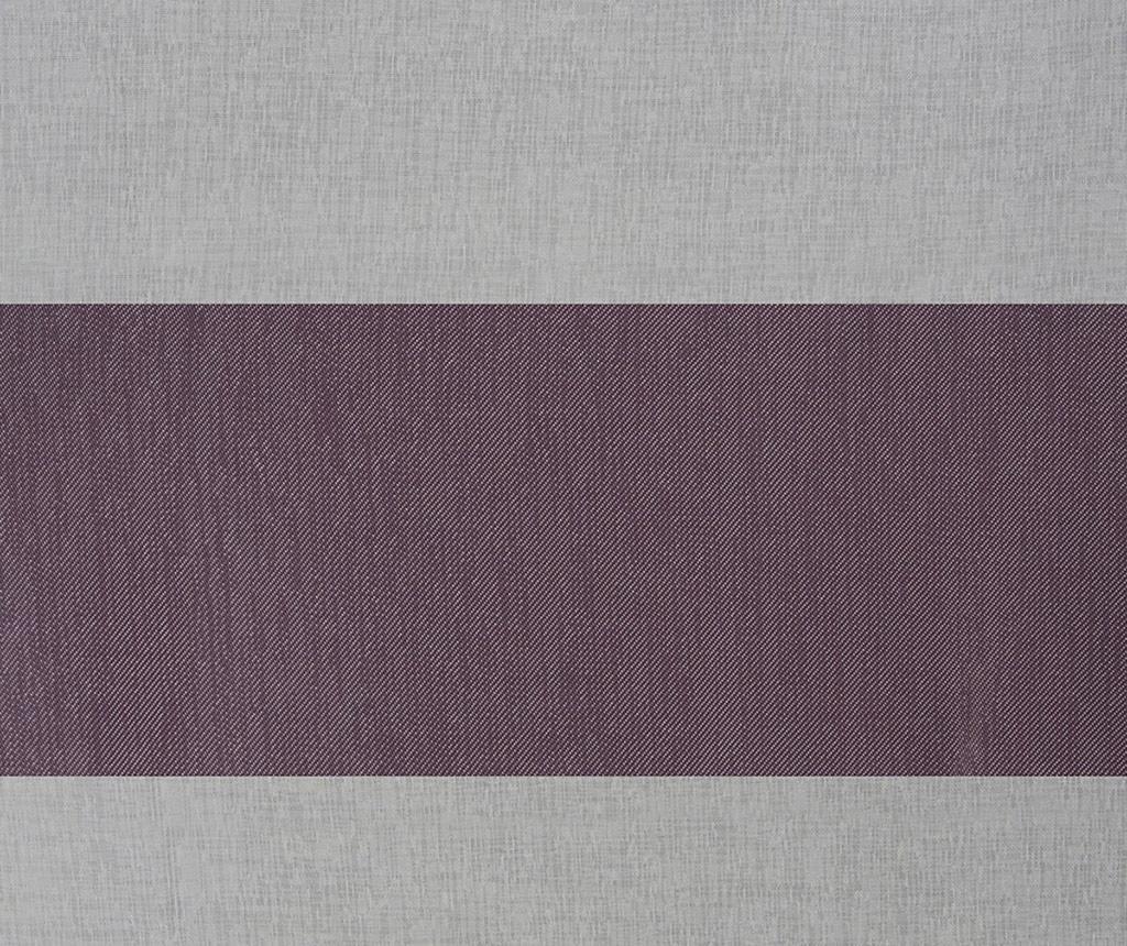 Zastor Cindy White Purple 140x250 cm