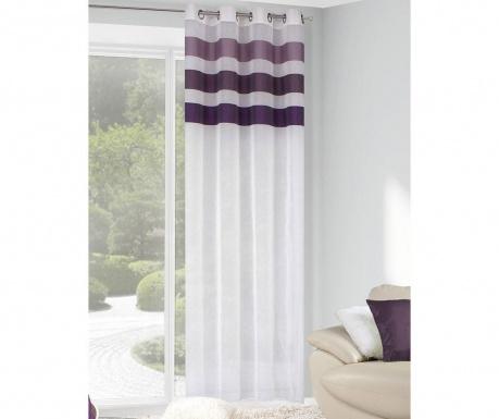 Závěs Cindy White Purple 140x250 cm