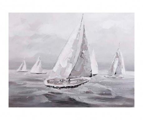 Obraz Sea Boat 90x120 cm