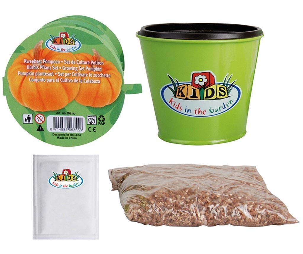 Set pentru plantat seminte de dovleac pentru copii Garden Play