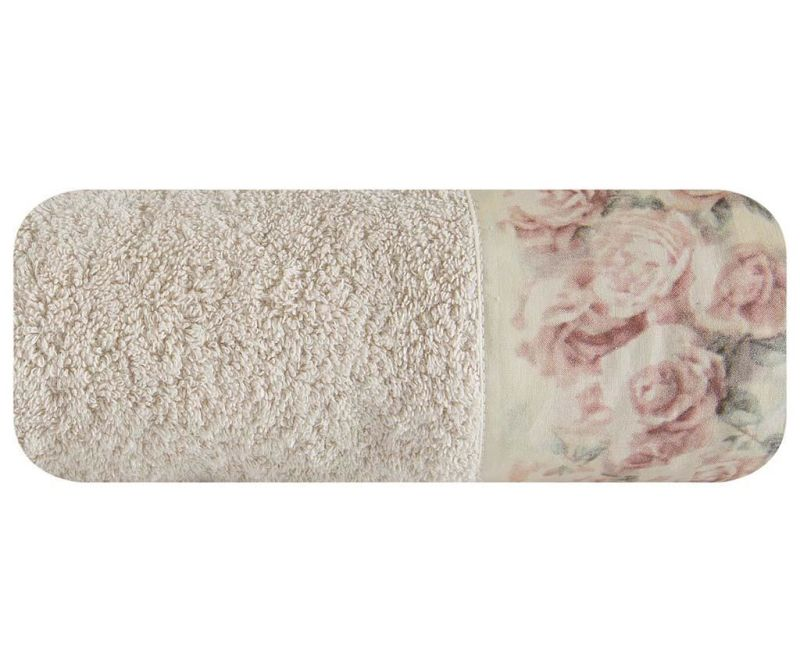 Kupaonski ručnik Anita Roses Beige 70x140 cm
