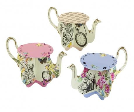Set 6 držača za muffine Truly Alice Whimsical