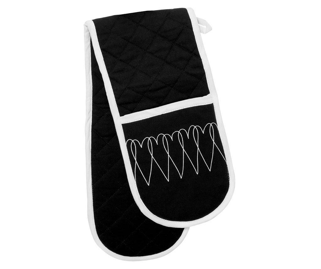 Dvojna kuhinjska rokavica Heartlines