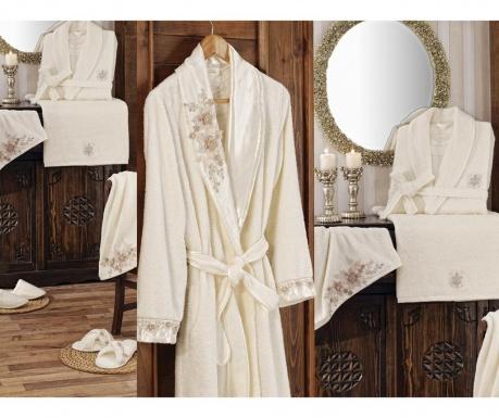 Perceive Cream 8 darabos Fürdőszobai szett