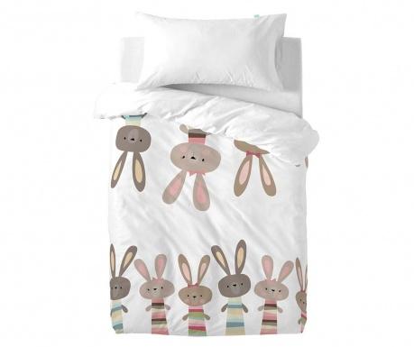 Posteljina za krevetić Little Rabbits Uni