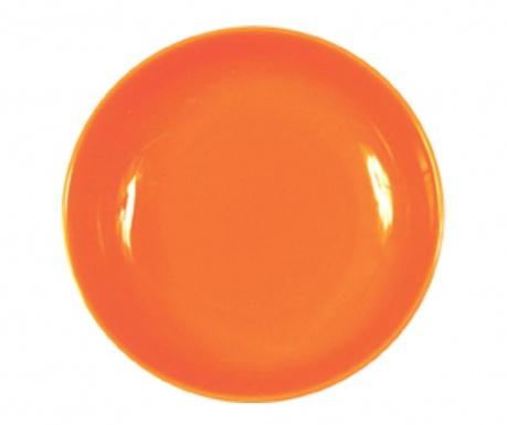 Talerz głęboki Flowers Orange