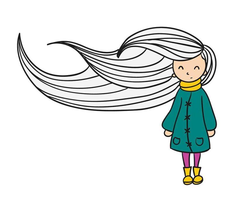 Nalepka Windy Girl