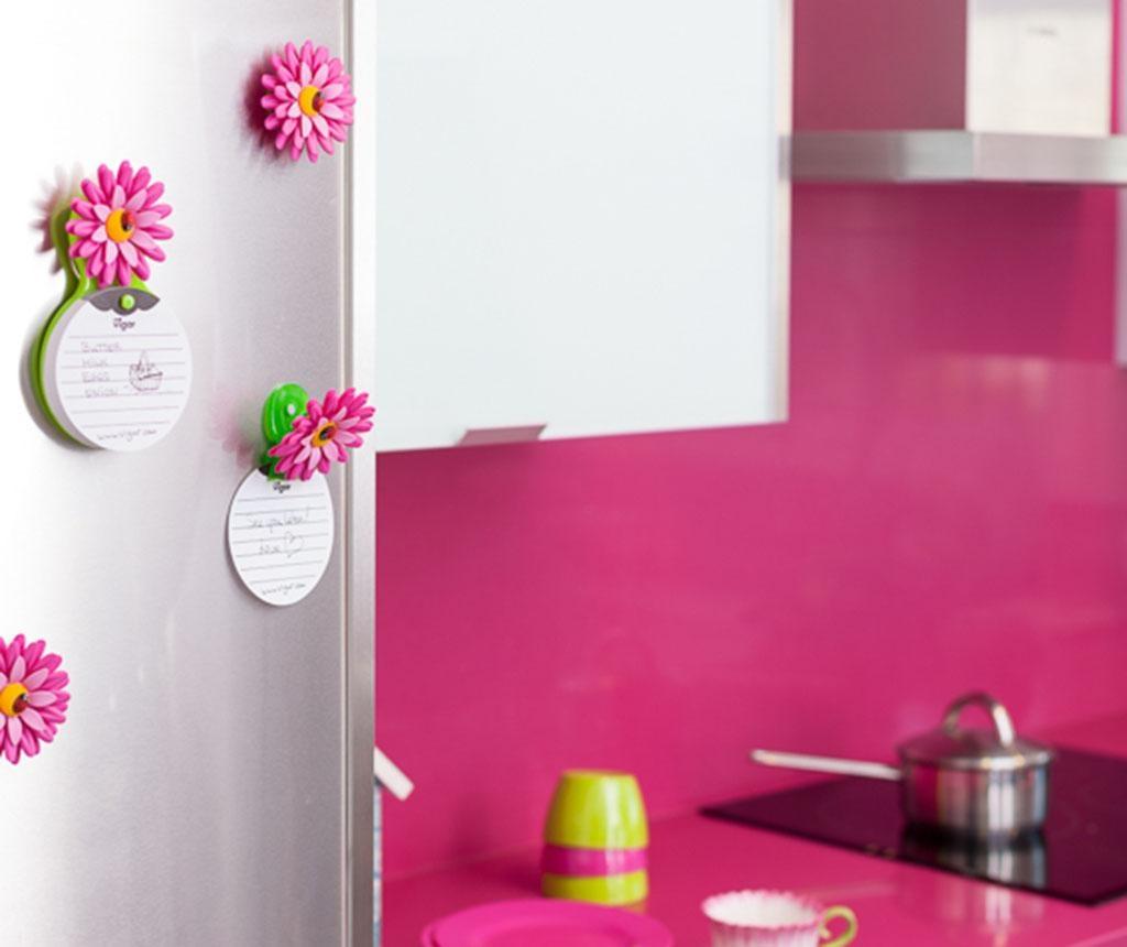 Memo tabla Flower Power Pink