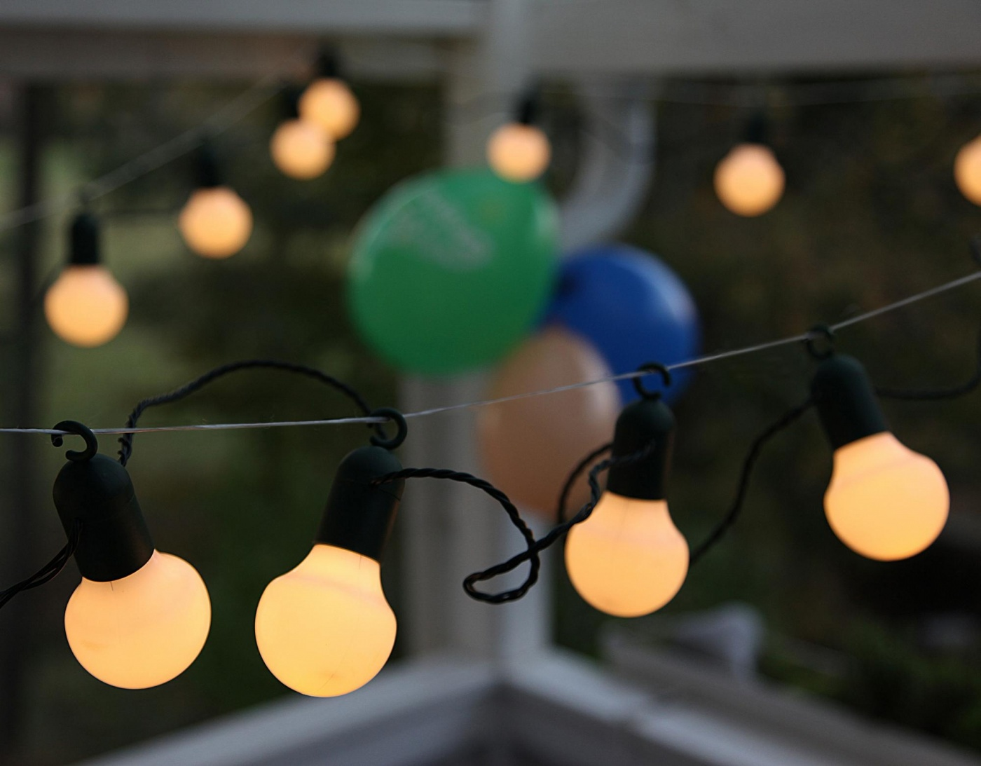 Ghirlanda luminoasa pentru exterior Party Ball