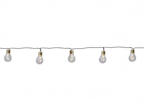 Ghirlanda luminoasa Silver Bulbs