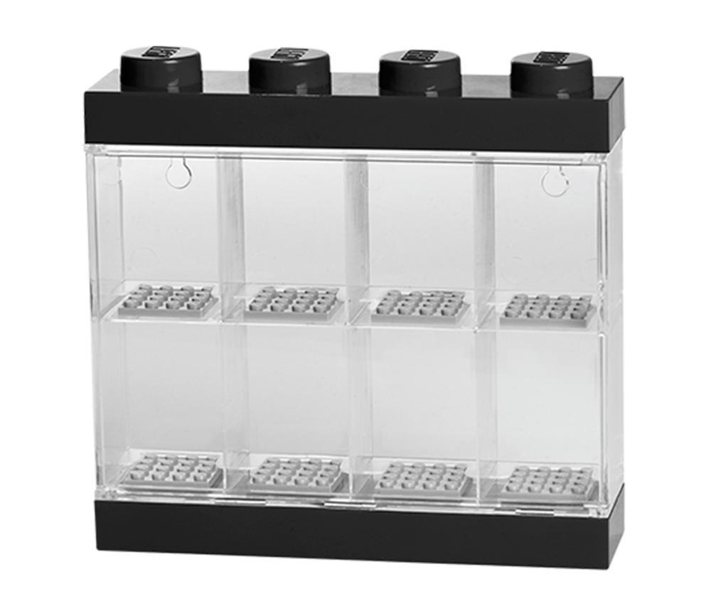 Cutie pentru 8 minifigurine Lego Few Black