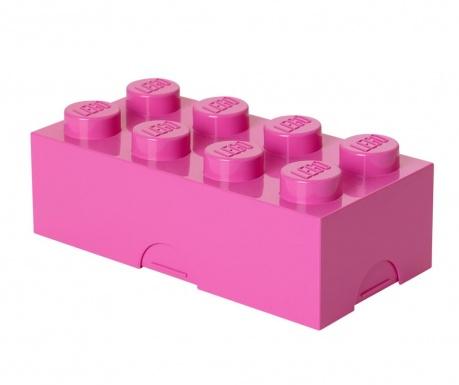 Lego Bight Pink Uzsonnás doboz