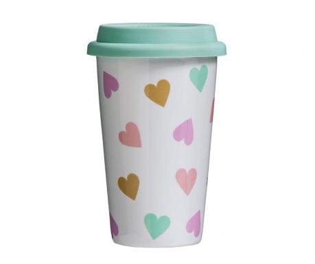 Kubek podróżny Love Confetti 330 ml