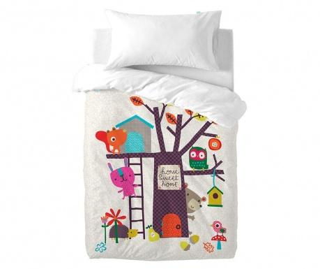 Posteljina za krevetić Satin Sweet Home Uni