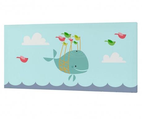 Slika Whale 27x54 cm