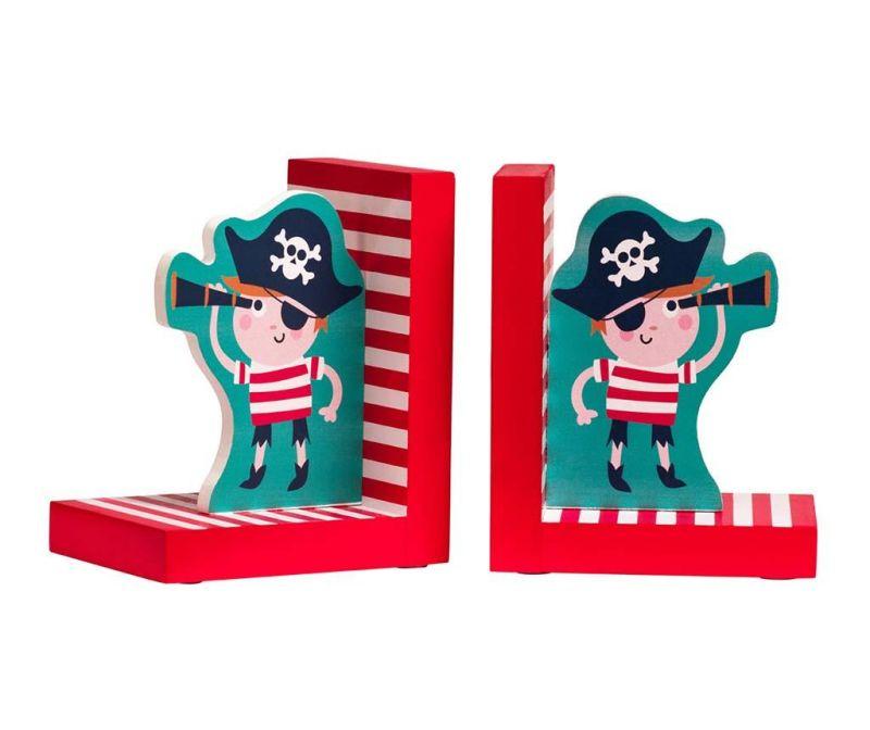 Set 2 držača za knjige Pirate on the Sea