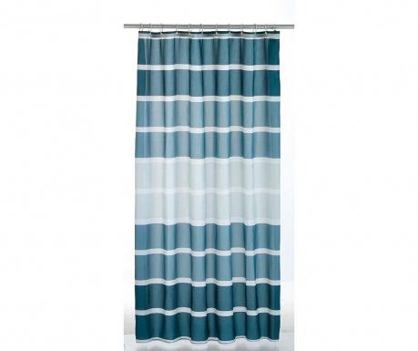 Κουρτίνα ντους Stripes Blue 180x200 cm