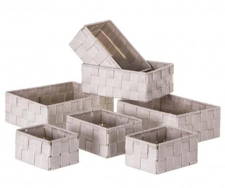 Σετ 7 καλάθια Storage Beige