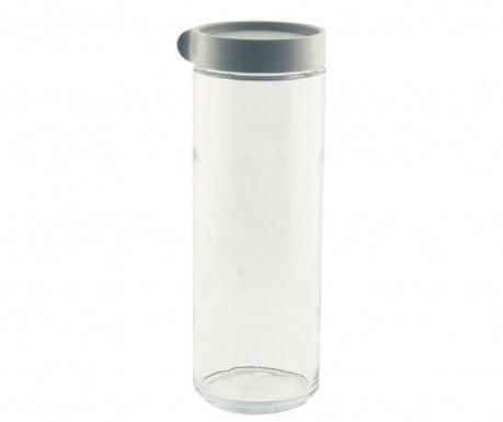 Recipient cu capac ermetic Block Grey 1.05 L