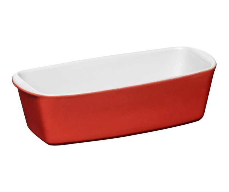 Vas de copt Oven Love Loaf Red 1.5 L