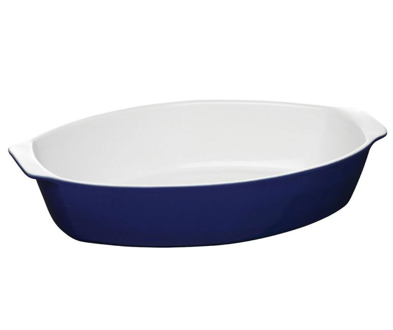 Vas de copt Oven Love Oval Blue 3.8 L