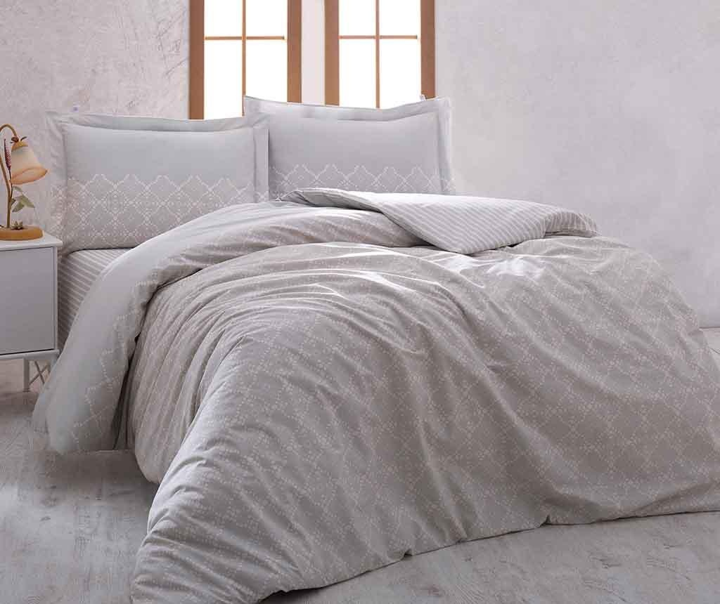 Set posteljina King Ranforce Luxury Lace 200x220