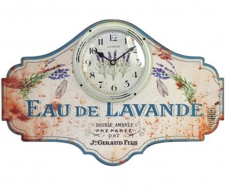 Zegar ścienny Eau de Lavande