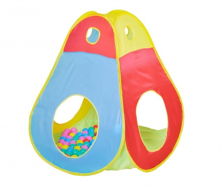 Namiot zabawkowy z 100 piłeczkami Brody
