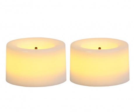 Set 2 LED sveč Lasi