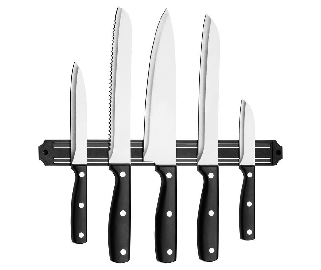 Set 5 nožev in magnetno držalao Chef