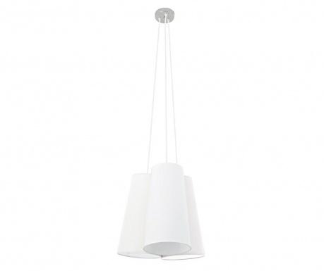 Závesná lampa Tris White