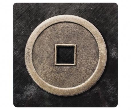 Lucky Coin 4 db Tányéralátét 28x28 cm