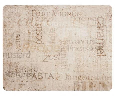 Gourmet 4 db Tányéralátét 26x33.5 cm