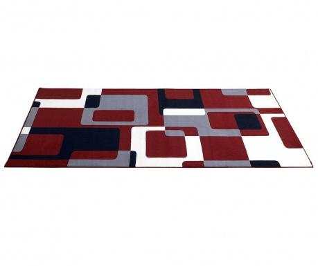 Χαλί Retro Red, Grey, Black