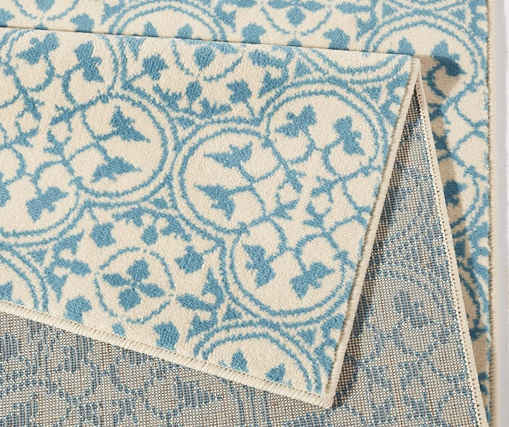 Килим Pattern Blue and Cream 120x170 см