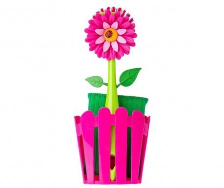 Σετ 3 τεμάχια κουζίνας Flower Power Fence Pink