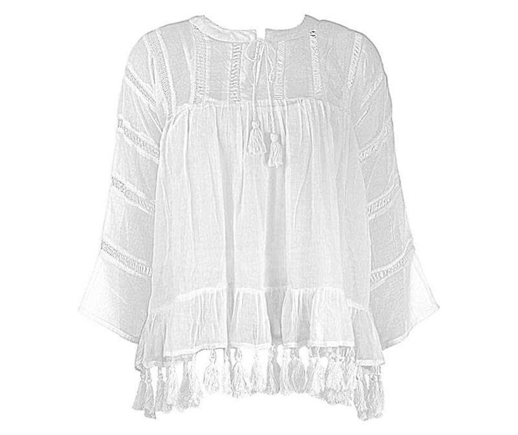 Bluza de plaja Anemone White M