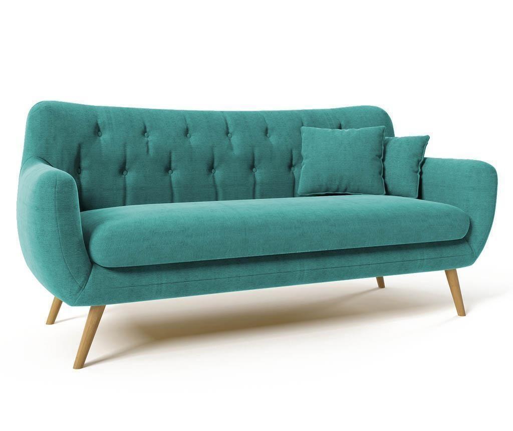 Canapea 3 locuri Renne Turquoise