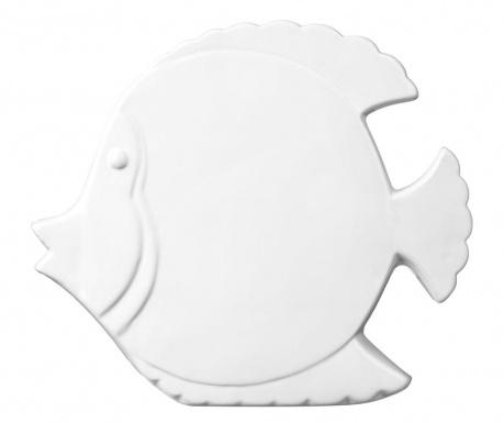 Decoratiune Fish White