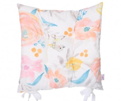 Vankúš na sedadlo Floral Breeze 37x37 cm