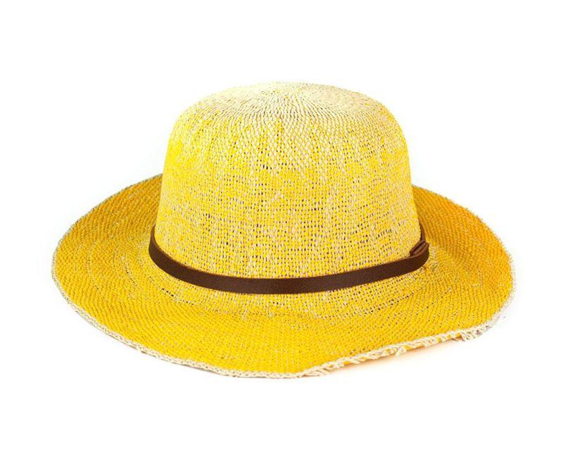 Palarie Roxanne Yellow 58-59 cm