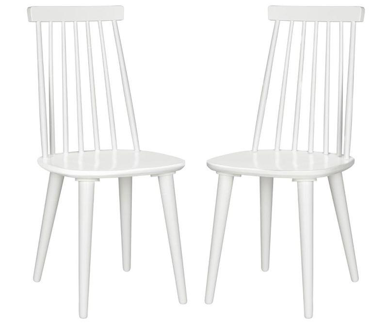 Sada 2 židlí Jerry All White