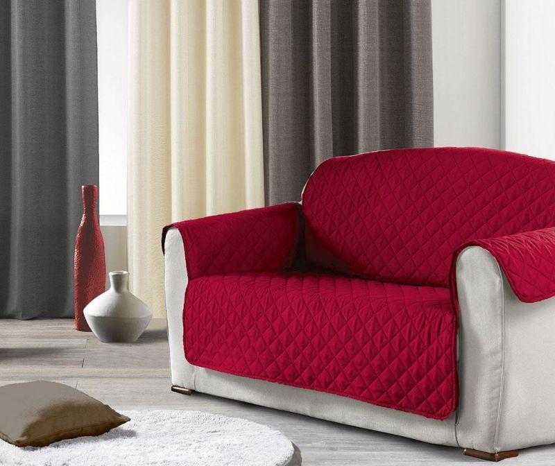 Prošivena navlaka za kauč Club Red 179x223 cm
