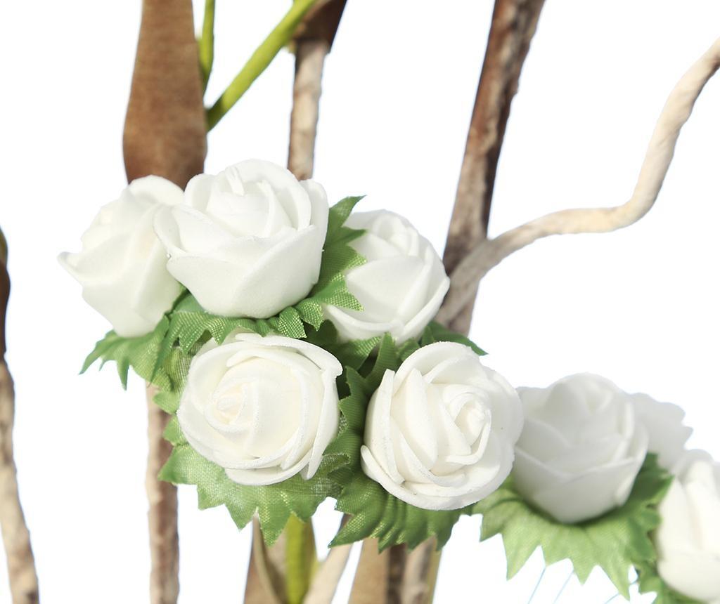 Umetna cvetlica Roses White