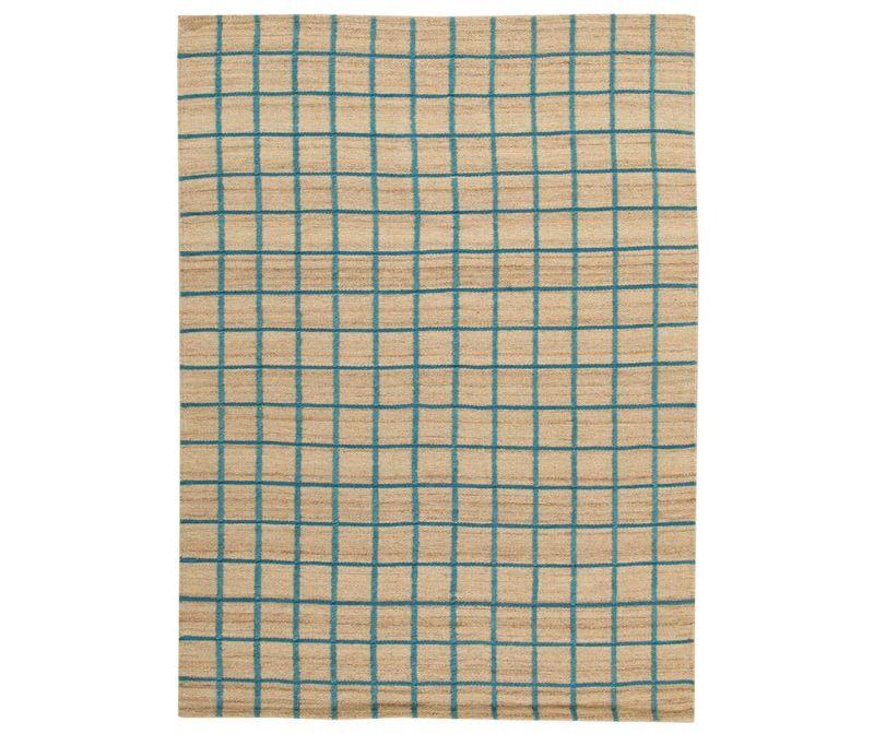 Preproga Kilim Box Blue 200x300 cm