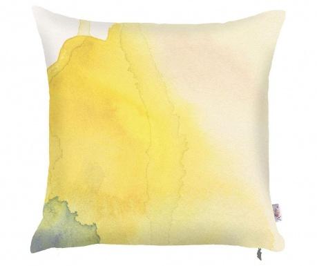 Obliečka na vankúš Yellow Paint 43x43 cm